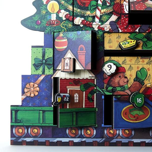 Heirloom Advent Calendar - Red Lion Inn