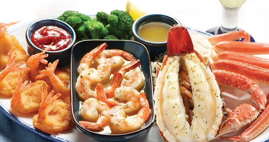 Menu Red Lobster Seafood Restaurants