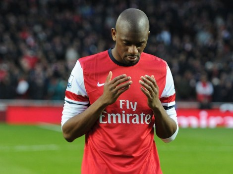 abou diaby praying