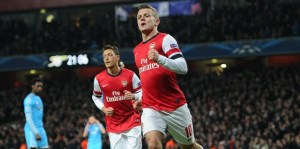 Wilshere nets stunner for England