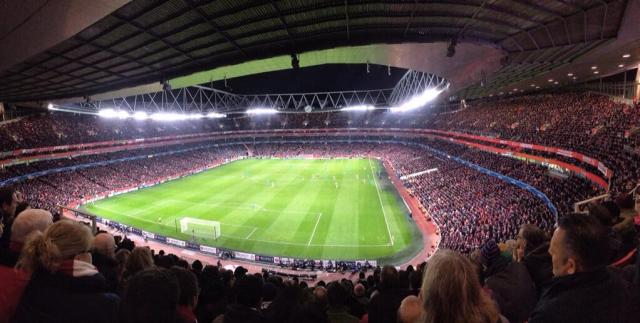 emirates fans watch