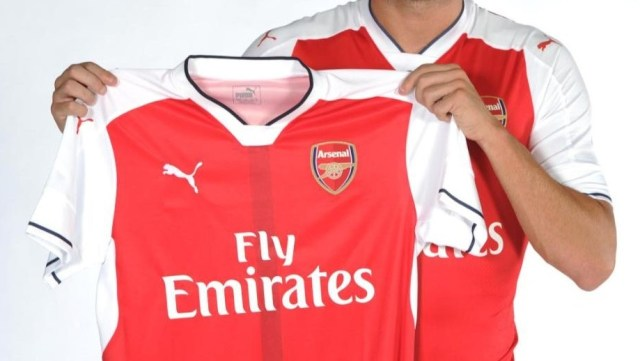 new arsenal signing