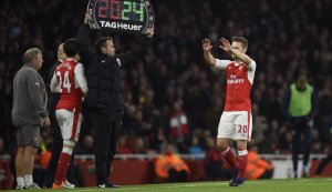 Shkodran Mustafi sends out a message after playing in Olympiacos game