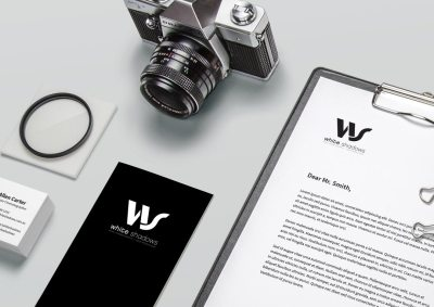 Brand Identity Design - White Shadows