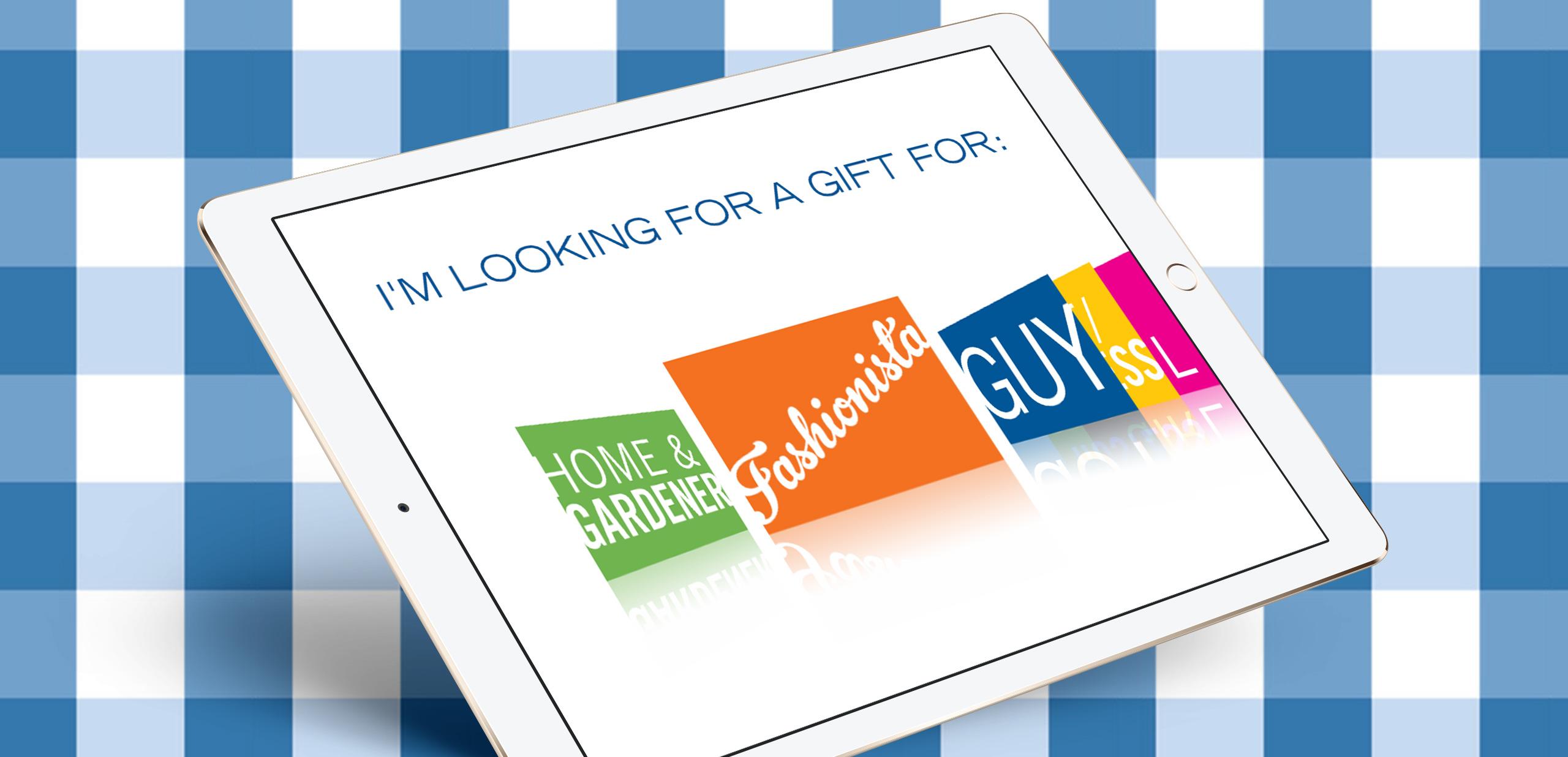 Mobile application Gift Finder increases sales for