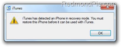 Fix 1604 Error iPhone 3.1.3