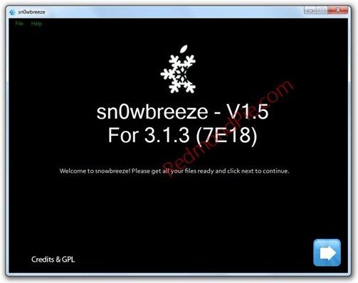 Sn0wbreeze V1.5.1