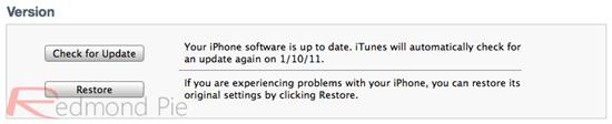 Update iPhone 4 4.2.1 (4)