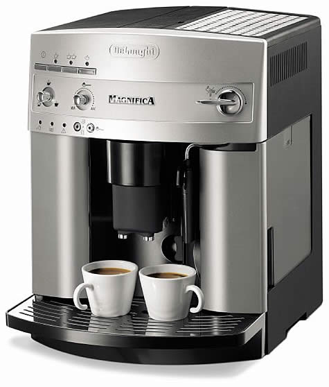 Delonghi Magnifica UK - Automatic Bean to Cup Espresso Machine - Red Monkey Coffee UK