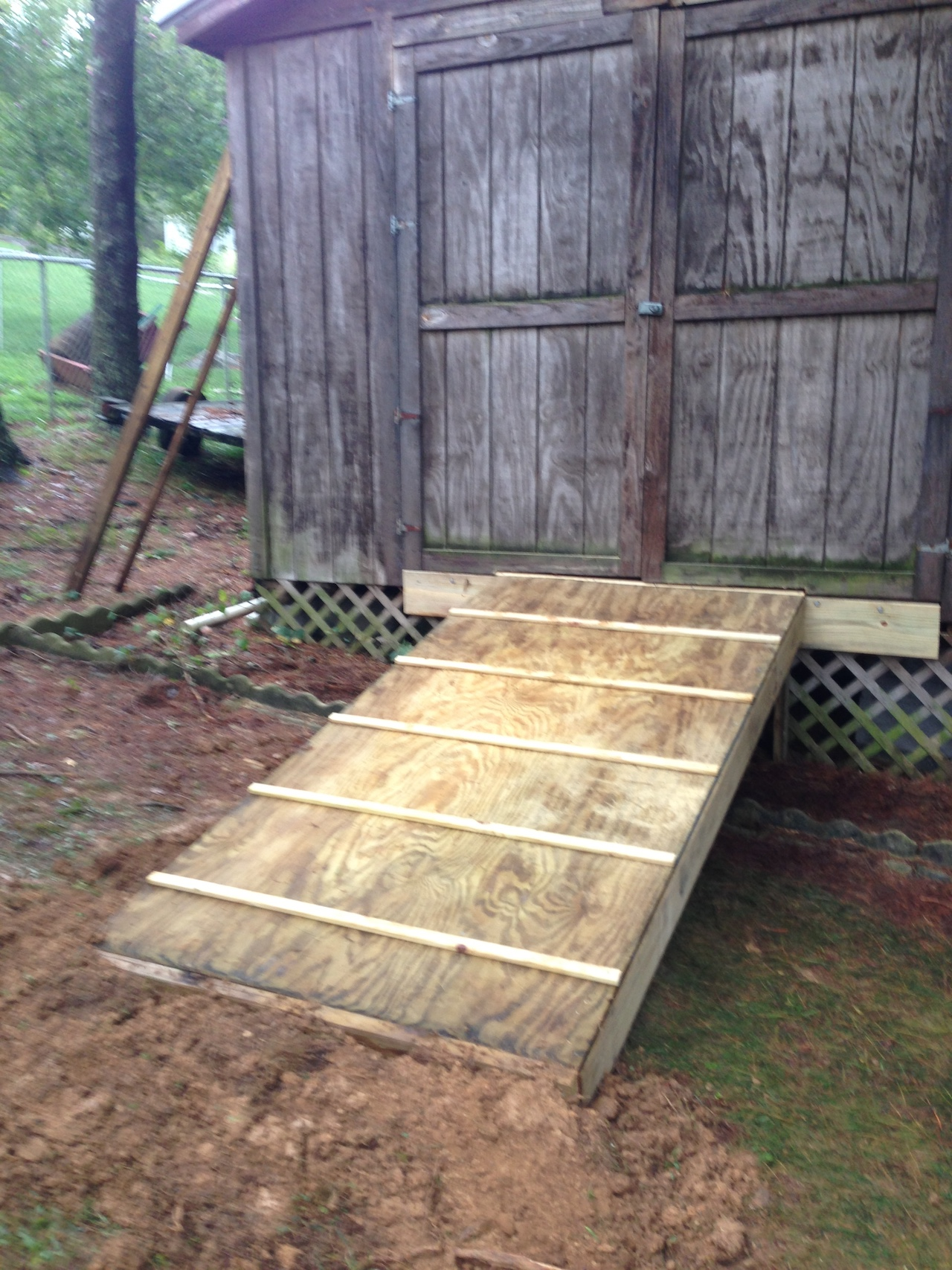 build a shed ramp