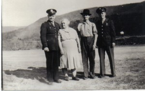 ANDY GRANDMA GRANDPA AND DADDY WWII