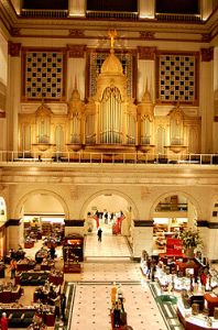 Wanamakers' Grand Court and Pipe Organ