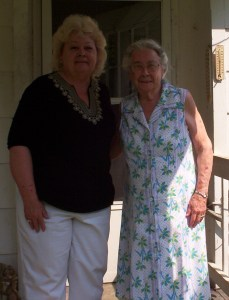 Faye and Aunt Diddie 2010
