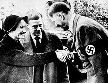 The Duke and Duchess of Windsor with Hitler