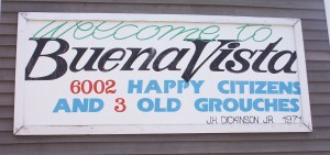 Welcom to Buena Vista