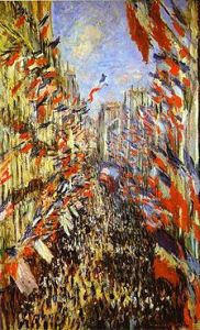 Reu Montorgueil by Claude Monet