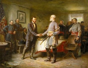 Grant accepts Lee's Surrender