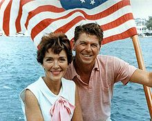 Ronald and Nancy Reagan in 1964