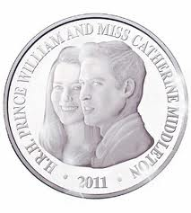 Wills and Kate Commerative Coin