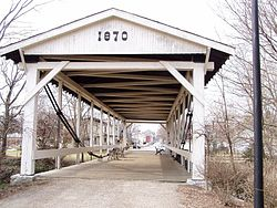 The Covered Bridge in Germantown