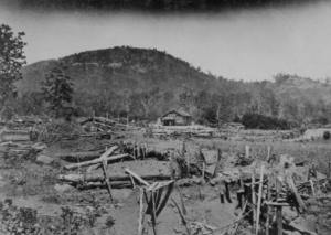 Union entrenchments near Kennesaw Mtn., GA