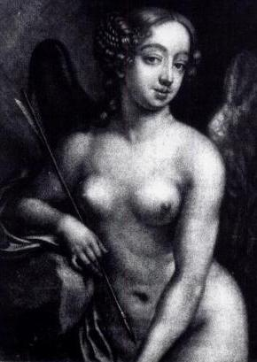 Nell as Cupid