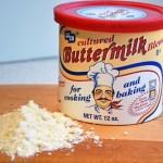 Buttermilk powder