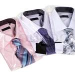 Three man's shirts