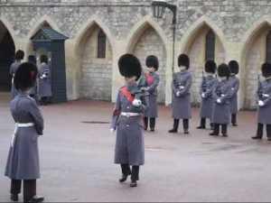 Windsor Castle Guardsmen