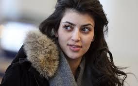 Kim without makeup