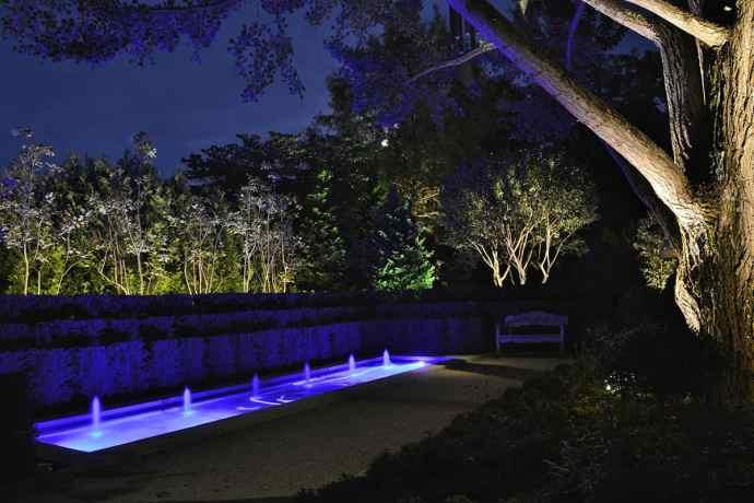 Garden Lighting Insallation