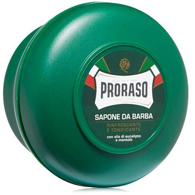 Proraso Shaving Soap in a Bowl Green (Menthol) 150ml
