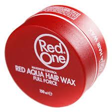 RedOne Hair Wax full force Red 150ml X 3