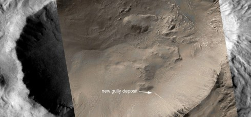 NASA Images Suggest Water Still Flows on Mars