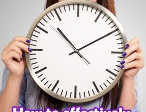 How to effectively manage your time with fibromyalgia