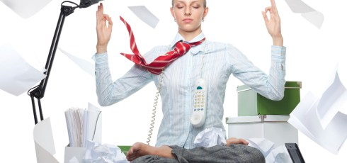 Workers Experiencing Office Stress May Wait Before Acting Out