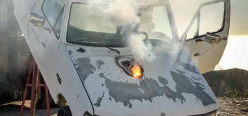 Death Star-like laser destroys truck more than mile away