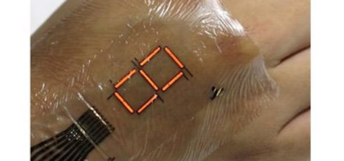 Team develops incredibly thin and flexible e-skin display