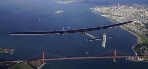 Solar Impulse 2 lands in California after crossing the Pacific