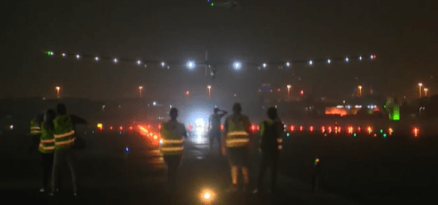 Solar Impulse finishes groundbreaking trip around the world