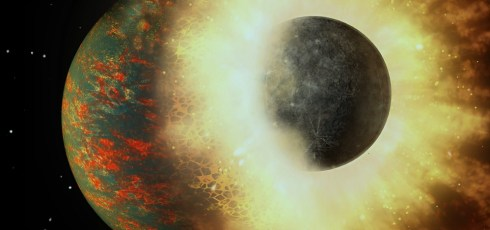 All of Earth's carbon came from planetary collision 4.4 billion years ago