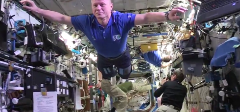 (VIDEO) ISS crew resurrects, wins, and then kills off the Mannequin Challenge