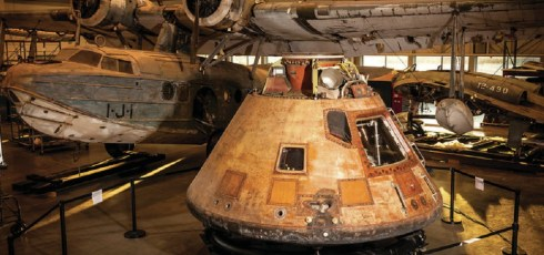 The Apollo 11 capsule is about to go on another mission