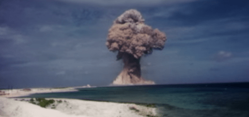 US Government Declassifies Cold War Nuclear Test Footage
