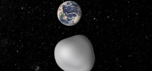 Mountain-sized asteroid narrowly misses Earth