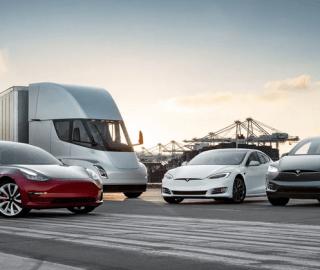 Tesla Posts Quarterly Profit of More Than $1 Billion