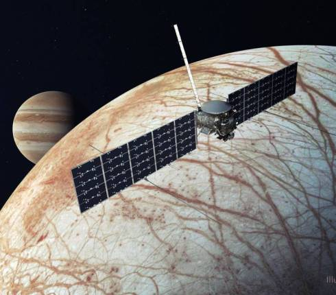 NASA Selects SpaceX Falcon Heavy to Launch Europa Clipper
