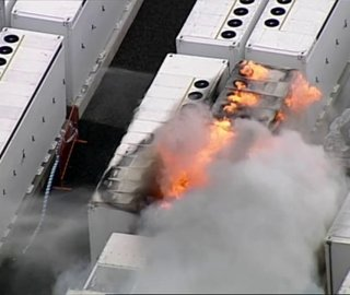 Tesla Megapack Catches Fire at Victorian Big Battery Facility in Australia