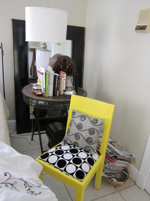 yellow chair master bedroom RedOstelinda