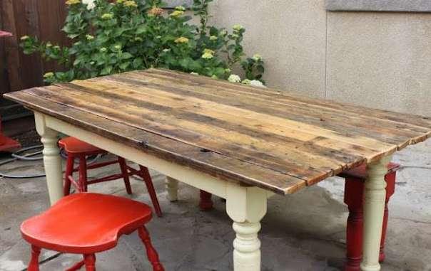 Farm Table to Plank Table redouxinteriors.com